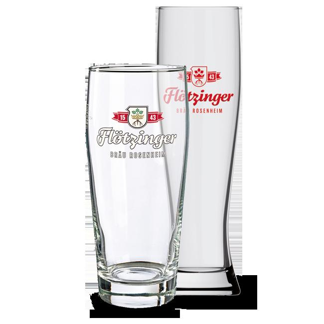 Flötzinger Bräu Gläser